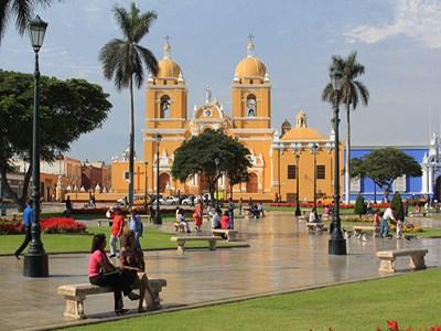 City Plaza de Trujillo, ciudad de Perú
