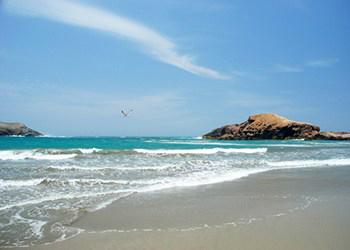 Playa -Tuquillo Huarmey Ancash, Perú