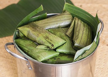 Tamal, plato típico de Costa Rica